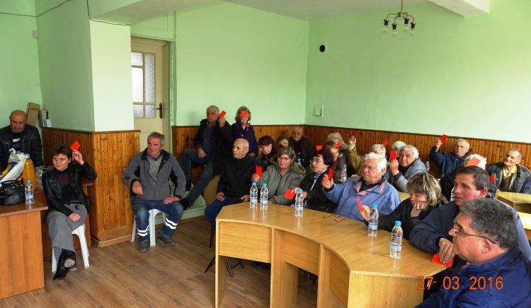 Проведе се общо събрание на БСП в община Две могили
