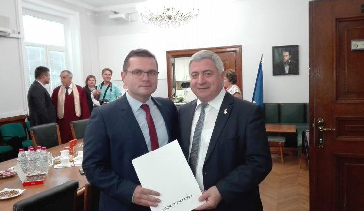 """Народните представители от БСП поздравиха студентите от РУ """"Ангел Кънчев"""" в Русе"""